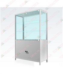 Dulap  tip  vitrina cu partea inferioara metalica(980x400x1610mm)