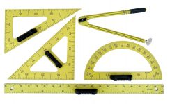 Set 5 instrumente de lucru la tabla (cu magnet)