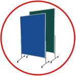 Pereți despărțitori (h2.1 m), tablă verde