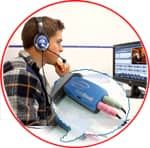 Sistem linguafonic portabil