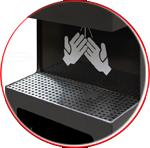 Statii de dezinfectare a mainilor