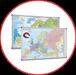 Europa.  Hărți magnetice