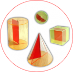 Figuri  geometrice  tridimensionale