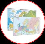 Hărţile Europei  (hărți fără şipci)