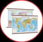 Hărţile Lumii  (hărți cu șipci)