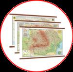 Hărţile României (hărți cu șipci)