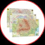 Hărţile României (hărți fără şipci)