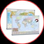 Lumea. Hărți magnetice
