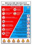 Plansa, reguli de siguranta la chimie