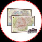 România şi Republica Moldova. Harţi 3D