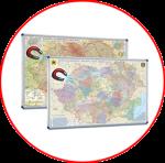 România şi Republica Moldova. Hărți magnetice