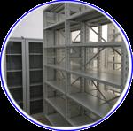 Mobilier metalic: arhive si biblioteci