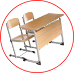 Mobilier scolar dublu (fix)