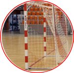 Porti de handbal uz interior