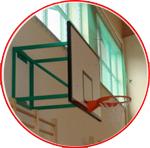 Sistem de montaj fix pentru panoul de baschet